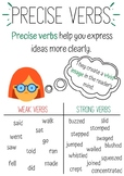 Precise Verbs Anchor Chart