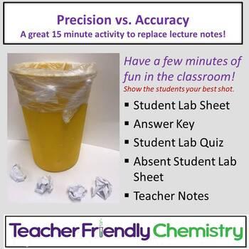 Chemistry Activity: Precision vs. Accuracy