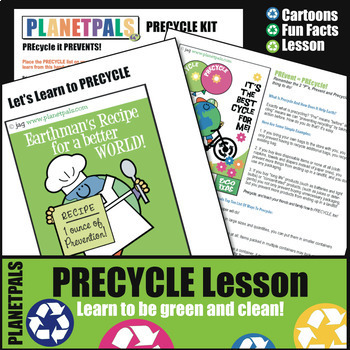 Recycle Precycle Kids Lesson Activities Earth Science Ecology Earth Every Day