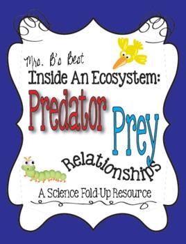 Predator-Prey Relationships Matchbook Foldable