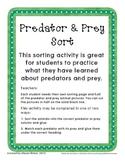 Predator & Prey Sort