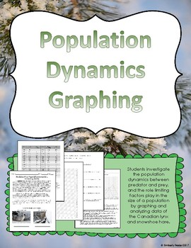 Predator and Prey Population Dynamics Graphing Activity