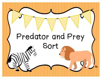 Predator and Prey Sort