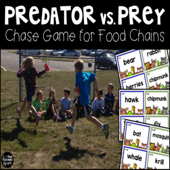 Predator vs. Prey Food Chain Chase Game
