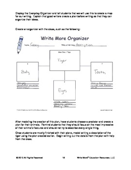 Predators On The Prowl - An Integrated Writing Activities and Science Unit