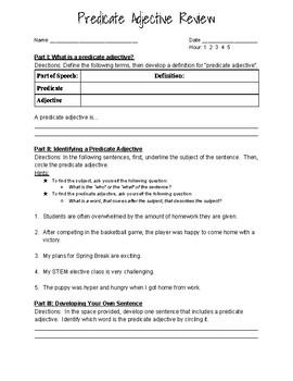 Awesome Adjective Worksheets by Kristin Jason | Teachers Pay Teachers