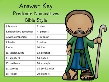 Predicate Nominatives SCOOT Biblical Style