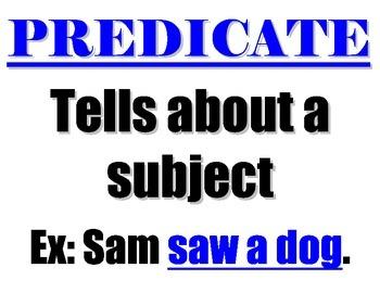 Predicate Poster