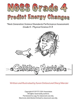 NGSS Grade 4 Predict Energy Changes Performance Assessment