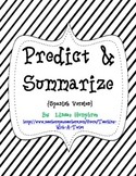 Predict & Summarize Activities {Spanish}