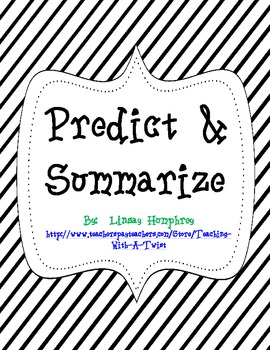 Predict & Summarize activities