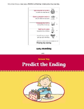 Predict the Ending (Take It to Your Seat Centers)