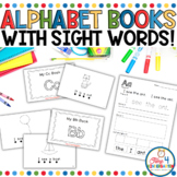Alphabet Sight Word Books BUNDLE