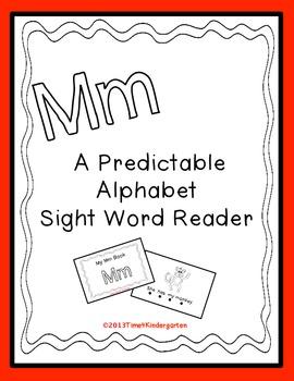 Predictable Alphabet Sight Word Reader Mm