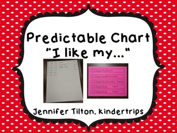 "Predictable Chart ""I like my"" editable"