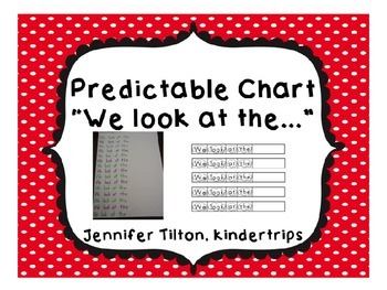 """Predictable Chart """"We look at the"""" editable"""