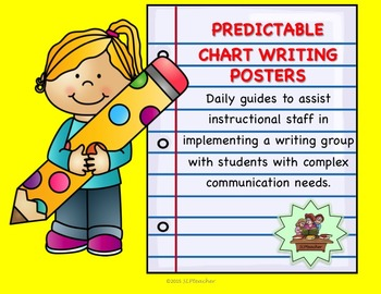 Predictable Chart Writing Posters