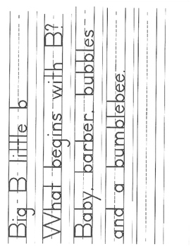 Predictable Handwriting Lessons - Poetry - Dr Seuss