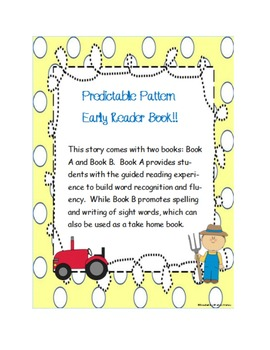 Predictable Pattern Easy Reader Books