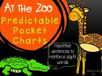 Predictable Pocket Chart Sentences