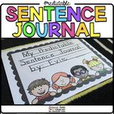 Predictable Sentence Journal