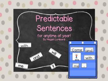 Predictable Sentences 1