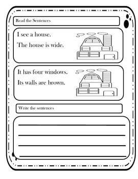 Predictable Sentences with Writing Practice