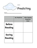 Predicting Before and During Reading
