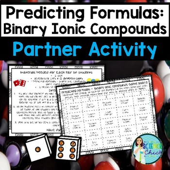 Predicting Formulas for Binary Ionic Compounds Partner Activity