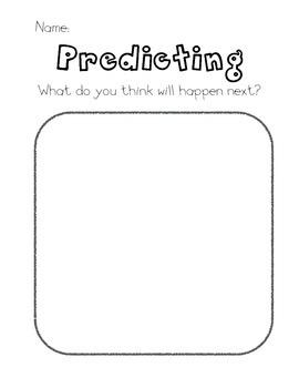 Predicting Graphic Organizer (Simple Version)