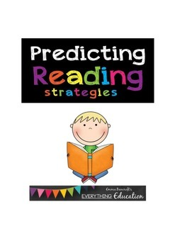 FREE!!! Predicting Guided Reading Strategy Worksheets