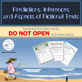 Predicting, Inferencing and Parts of Fictional Texts