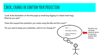 """Predicting, Inferring and Character Analysis with """"The Stray Dog"""" by Marc Simont"""