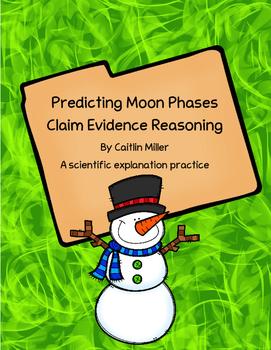 Predicting Moon Phases Claim Evidence Reasoning