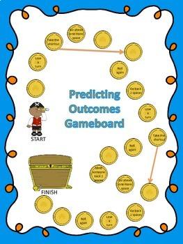 Predicting Outcomes Scavenger Hunt, plus bonus gameboard