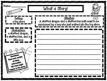 Predicting Outcomes Story Starters