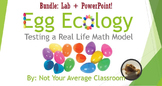 STEM Predict Population Size & Test A Real Life Math Model mini bundle