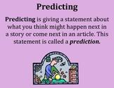 Predicting Poster - Intermediate Elementary School Grades