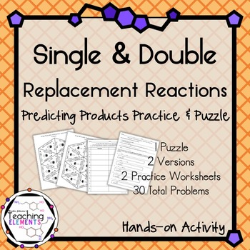 predicting the products of double replacement reactions essay Doing chemical reactions is the main focus of chemistry because that's where the action is that's when something gets made, changed, or destroyed so a lot of emphasis is placed on chemical reactions.