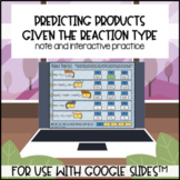 Predicting Products for use with Google Slides™️ Distance Learning
