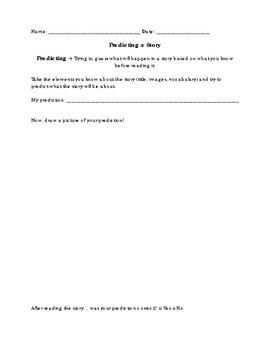 Predicting - Reading Strategies