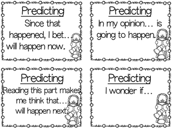 Predicting (Student Activities and Graphic Organizers)