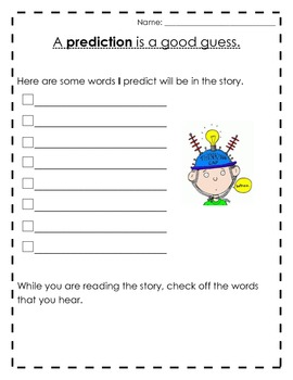 Predicting Words in the Story