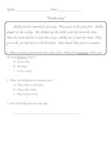 Predicting Worksheet pages