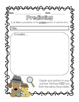 Predicting and Inferring {organizers to use with any text}
