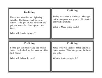 Predicting cards