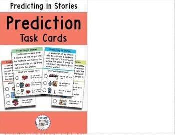 Predicting in Stories with Picture Choices + NO PRINT (Distance Learning)