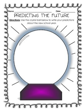 Predicting the Future - New School Year Crystal Ball