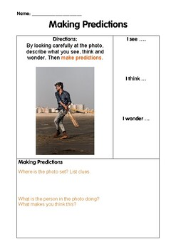Predicting using Photos