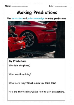 Predicting using Photos- ONE WEEK of Warm-ups